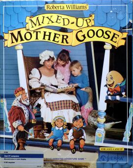 Mixed-Up Mother Goose (Atari ST)
