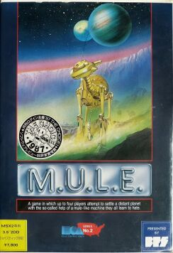 M.U.L.E. (Bullet-Proof Software) (MSX)