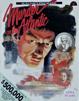 Murder on the Atlantic (Intracorp) (Apple II)