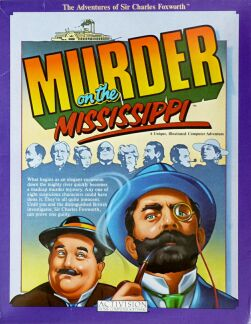 Murder on the Mississippi (Apple II)