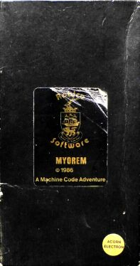Myorem (Robico) (Acorn Electron) (Contains Hint Sheet)
