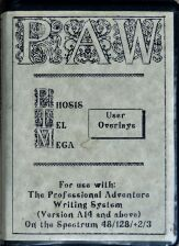 PAW - Phosis, Tel and Mega (Gilsoft) (ZX Spectrum)