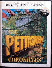 Pettigrew Chronicles, The (Shards Software) (ZX Spectrum)
