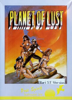 Planet of Lust (Free Spirit Software) (Atari ST) (Contains Hint Sheet)