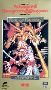 Pool of Radiance (Pony Canyon) (Famicom)