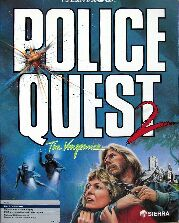 Police Quest 2: The Vengeance (Atari ST) (Contains Hint Book)