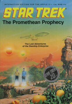 Star Trek: The Promethean Prophecy (Simon & Schuster) (Apple II)