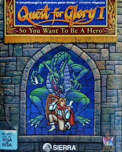 Quest for Glory I: So You Want to be a Hero? (IBM PC) (VGA Version) (Contains Hint Book)