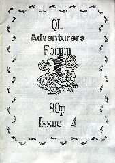 QL Adventurers Forum Issue 4