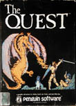 Quest, The (Atari 400/800) (Contains Alternate Manual, Hint Sheet, Witts' Notes, Hint Book)