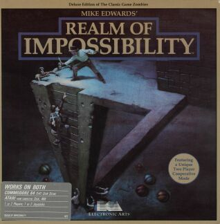Realm of Impossibility (C64/Atari 400/800) (Disk Version)