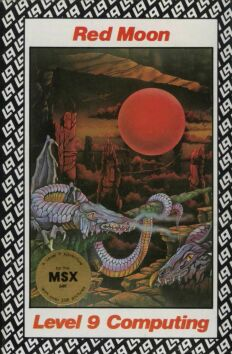 Red Moon (MSX) (Contains Hint Sheet)