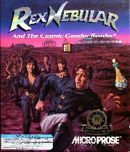 Rex Nebular and the Cosmic Gender Bender (Microprose) (IBM PC) (Contains Hint Book)