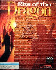 Rise of the Dragon (Dynamix) (IBM PC) (Contains Clue Book)
