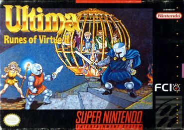 Ultima: Runes of Virtue II (FCI) (Super Nintendo)
