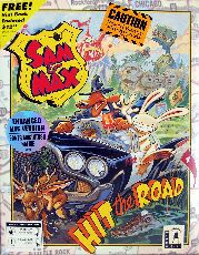 Sam & Max Hit the Road (Macintosh) (Contains Hint Book)