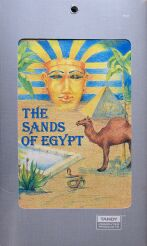 Sands of Egypt (Alternate Folder) (Datasoft, Licensed to Tandy) (Coco)