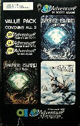 Adventure 10-11-12 (Value Pack #4) (TRS-80/Atari 400/800)
