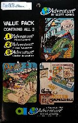 Adventure 1-2-3 (Value Pack #1) (TRS-80/Atari 400/800)