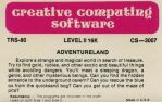 Adventure 1: Adventureland (Creative Computing Software) (TRS-80)