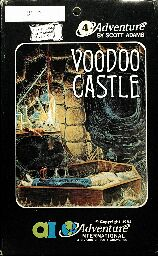 Adventure 4: Voodoo Castle (Atari 400/800)
