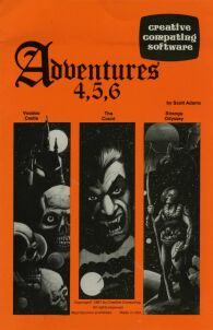 Adventure 4-5-6 (Creative Computing Software) (TRS-80)