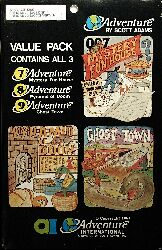 Adventure 7-8-9 (Value Pack #3) (TRS-80/Atari 400/800)