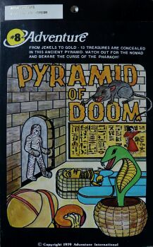 Adventure 8: Pyramid of Doom (Early Cover Art) (Atari 400/800)