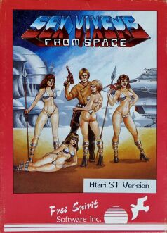 Sex Vixens from Space (Free Spirit Software) (Atari ST)