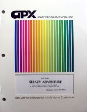 Sleazy Adventure (Atari Program Exchange) (Atari 400/800)