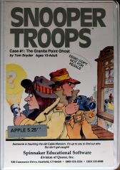 Snooper Troops: The Granite Point Ghost (Folio) (Apple II)