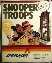 Snooper Troops: The Granite Point Ghost (includes 2 copies of manual) (Atari 400/800)