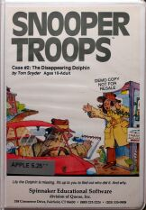 Snooper Troops: The Disappearing Dolphin (folio) (Apple II)
