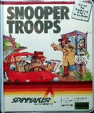 Snooper Troops: The Disappearing Dolphin (Atari 400/800)