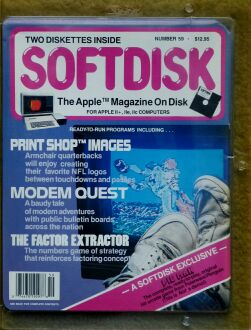 Softdisk #59 (including Pie Man) (Softdisk) (Apple II)