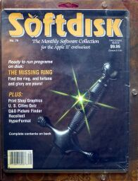 Softdisk #79 (inlcuding The Missing Ring) (Softdisk) (Apple II)