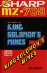 Search for King Solomon's Mines, The (Solo Software) (Sharp MZ-700)
