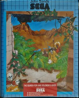 Search for King Solomon's Mines Part 1, The (Dotsoft) (Sega SC-3000)