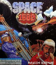Space 1889 (Paragon) (IBM PC) (Contains Clue Book)