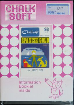 Spanish Gold (Chalksoft) (BBC Model B) (Disk Version)