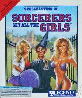 Spellcasting 101: Sorcerers Get all the Girls (IBM PC) (Contains Hint Book)