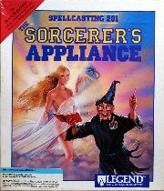 Spellcasting 201: The Sorcerer's Appliance (IBM PC) (Contains Hint Book)