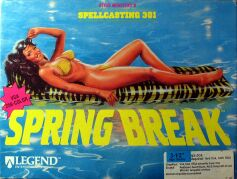 Spellcasting 301: Spring Break (IBM PC) (Contains Hint Book)