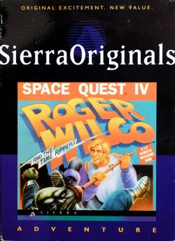 Space Quest IV: Roger Wilco and the Time Rippers (SierraOriginals) (IBM PC)