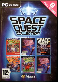 Space Quest Collection (Space Quest I-VI) (IBM PC)
