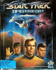 Star Trek: 25th Anniversary (Interplay) (Amiga) (Contains Clue Book)