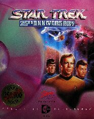 Star Trek: 25th Anniversary (Enhanced CD-ROM Edition) (Interplay) (IBM PC) (Contains Clue Book)