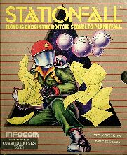 Stationfall (C64) (Contains InvisiClues Hint Book, Map)
