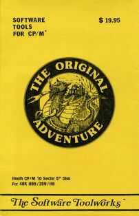 Adventure, The Original (Software Toolworks) (Heathkit/Zenith CP/M) (Contains Hint Sheet and Maps)