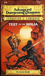 AD&D Adventure Gamebook #5: Test of the Ninja